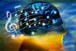 music and brain image